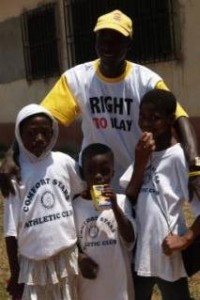 Right to Play in Ghana
